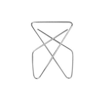 Officemate Butterfly Large Number 1 Paper Clip, 2-1/2 Inches, Steel Wire, Pack of 12