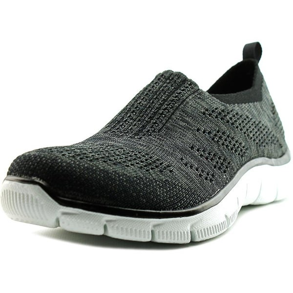 Skechers Empire-Inside Look Women  Round Toe Canvas Black Walking Shoe
