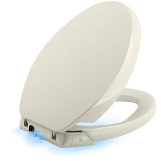 Kohler K 5588 Purefresh Elongated Closed Front Toilet Seat With Air Filtering Night