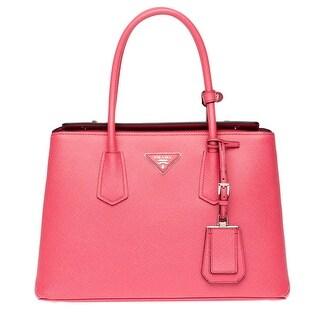 Prada Saffiano Leather Tote Handbag Tamaris