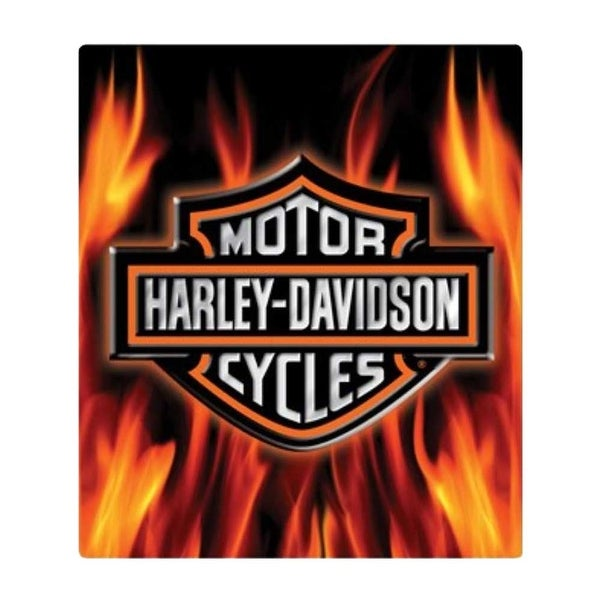 Remarkable Harley Davidson Embossed Flaming Bar Shield Logo Tin Sign 13 X 15 In 2011291 13 X 15 Download Free Architecture Designs Scobabritishbridgeorg
