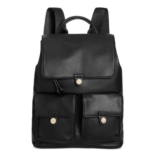 26eaad55b65 Shop Calvin Klein Womens Backpack Pebbled Drawstring - Free Shipping ...