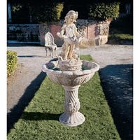 Design Toscano Abigail's Bountiful Apron Fountain