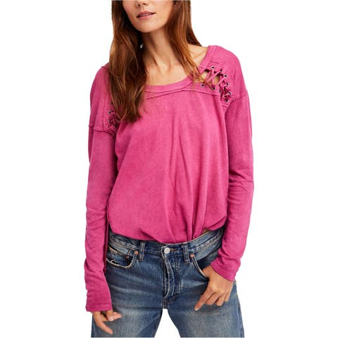 Free People Womens First Love Basic T-Shirt