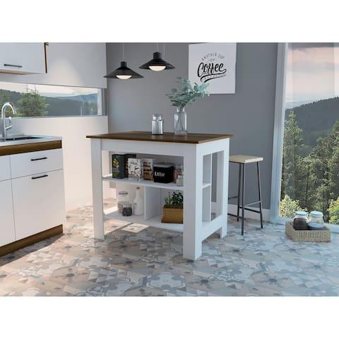TUHOME Cala kitchen island