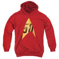 Star Trek 50Th Anniversary Delta Youth Pullover Hoodie