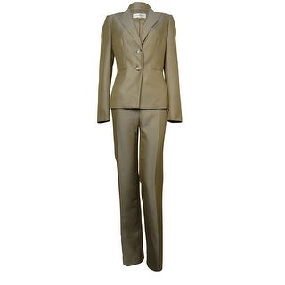 Evan Picone Women's Herringbone Park Avenue Pant Suit