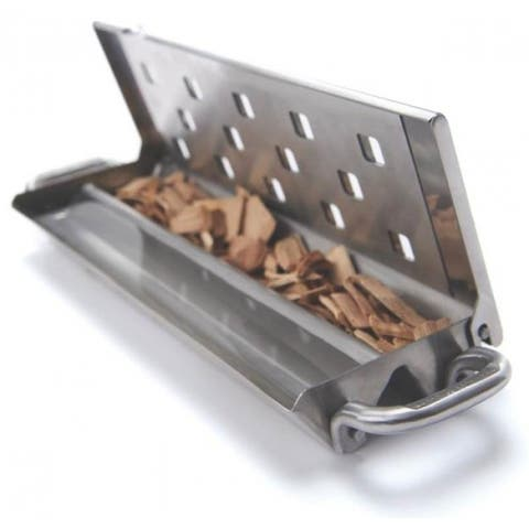 Broil King 60190 Smoker Box with Slider Lid, Stainless Steel
