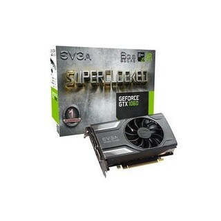 Evga Geforce Gtx 1060 Sc Gaming, Acx 2.0 (Single Fan), 6Gb Gddr5, Dx12 Osd Support (Pxoc), Only 6.8 Inches Graphics Card