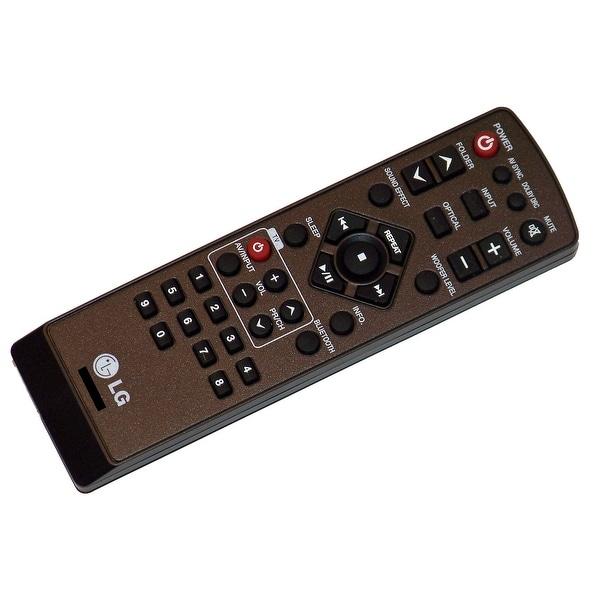 OEM LG Remote Control Originally Shipped With: HLS36W, HLS36W-NB, LSB316
