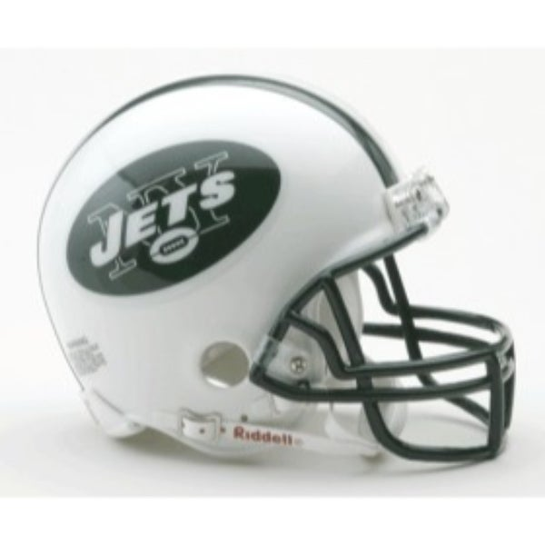 9c025096825 Shop New York Jets Replica Mini Helmet w/ Z2B Face Mask - Free Shipping  Today - Overstock - 22203114