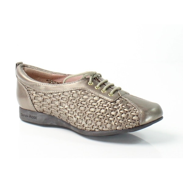 Taryn Rose NEW Gray Trudee Shoes Size 5.5M Oxfords Leather