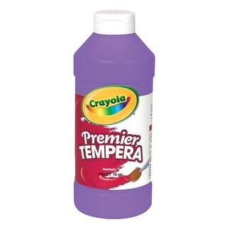 Crayola Premier Liquid Tempera Paint, 1 Pint, Violet