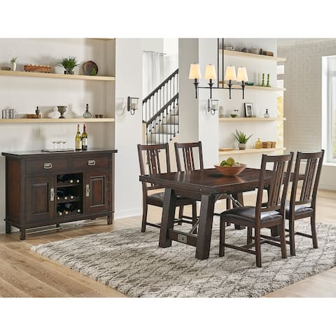 Simply Solid Solera Solid Wood 5-piece Dining Collection