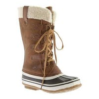 Portland Boot Company Women's Duck Duck Tall Snow Boot Tan