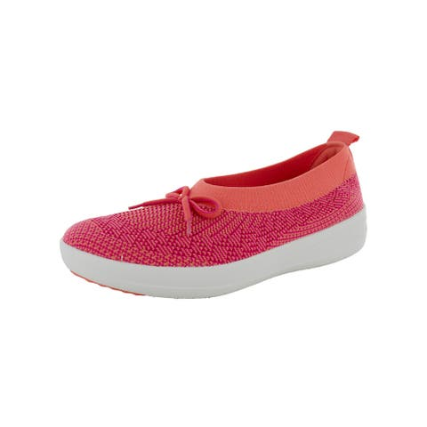 Fitflop Womens 'Uberknit Ballet Flats With Bow'