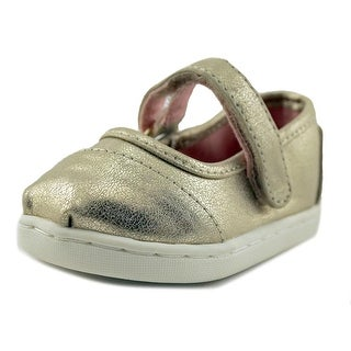 Toms Mary Jane Round Toe Synthetic Mary Janes