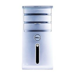 Dell Inspiron 530 Computer Tower Intel Core 2 Duo E7600 3.06G 4GB DDR2 2TB Windows 10 Pro 1 Year Warranty (Refurbished) - Silver