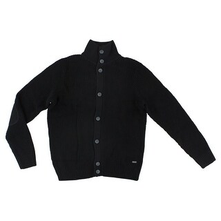 Adidas Mens Grunge Cardigan Black
