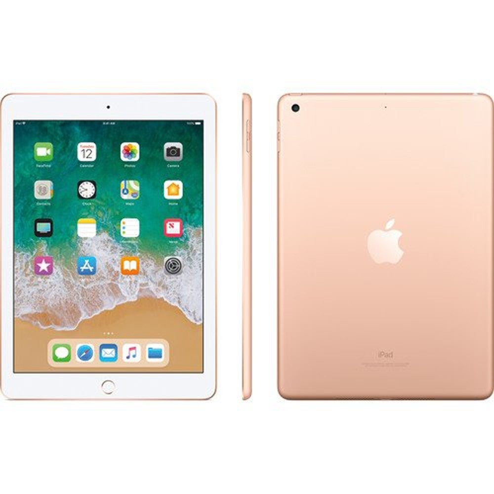 Apple 9.7 iPad Early 2018, 32GB, Wi-Fi + 4G LTE, iPad MRM52LL/A Gold