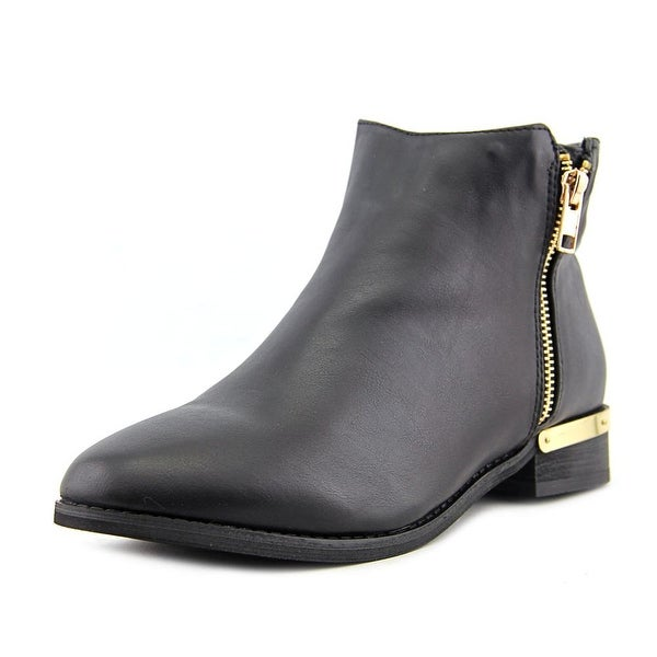 G.C. Shoes Corrine Women Round Toe Synthetic Ankle Boot