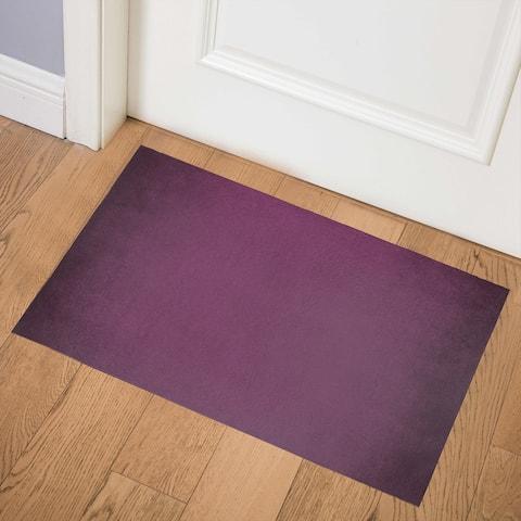 OMBRE PURPLE Indoor Floor Mat By Kavka Designs