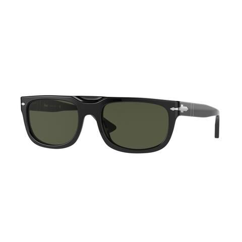 Persol PO3271S 95/31 55 Black Man Rectangle Sunglasses
