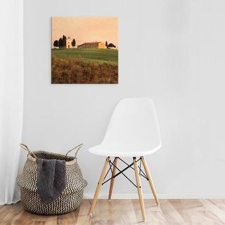 Easy Art Prints Elizabeth Carmel's 'Evening Light, Tuscany' Premium Canvas Art