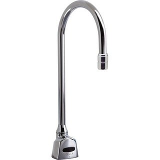 Delta 1501T3320 1.5GPM Motion Activated Battery Operated Single Hole Electronic Bar / Prep Faucet with Antimicrobial by AgION