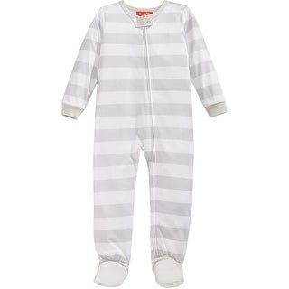 Family PJs Footed Pajamas Striped
