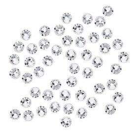 Swarovski Crystal, Round Flatback Rhinestone SS16 3.8mm, 50 Pieces, Crystal