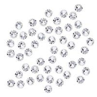 Swarovski Elements Crystal, Round Flatback Rhinestone SS16 3.8mm, 50 Pieces, Crystal