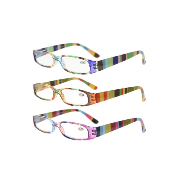 3 Pack Ladies Reading Glasses Smaller Readers Mix Color. Opens flyout.