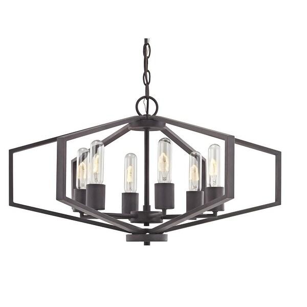Dolan Designs 1145 Hexagon 26 Wide 6 Light Cage Style