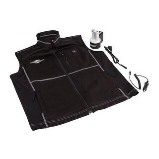 Flambeau inc f100-mm heated vest black, medium - Black
