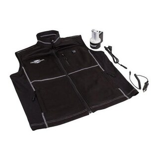 Flambeau inc f100-ms heated vest black, small - Black