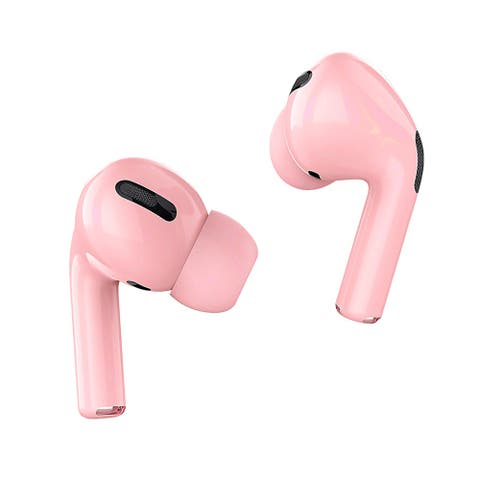 Air Sport Pro TWS Wireless Earbuds and Noise Canceling with Magnetic Charging Case, Pink