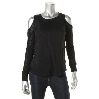 Splendid Womens Casual Top Knit Solid
