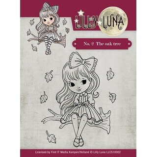 Find It Trading Lilly Luna Clear Stamps-The Oak Tree