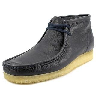 Clarks Originals Wallabee Boot Round Toe Suede Chukka Boot