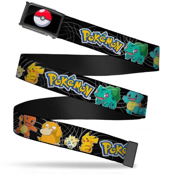 Poke Ball Fcg Chrome Pokemon Kanto Starter Pokemon Psyduck Togepi Web Belt