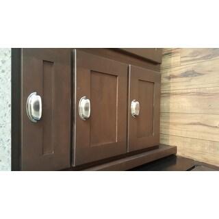 GlideRite 2.5 Inch Satin Nickel Classic Bin Cabinet Pulls (Case Of 25)