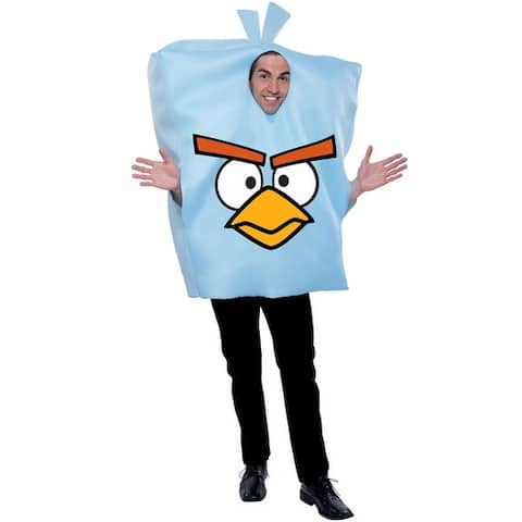 PMG Angry Birds Space Ice Bomb Bird Adult Costume - Blue - One Size Fits Most