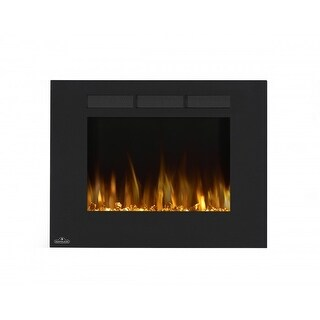 Napoleon NEFL32FH 32 Inch Linear Wall Mount Electric Fireplace - Black