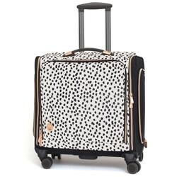 2e8c47b29a27 Shop Rose Gold Dalmatian - 360 Crafter s Rolling Bag - Free Shipping Today  - Overstock - 20097321