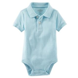 OshKosh B'gosh Baby Boy's Piqué Polo Bodysuit, 9 Months