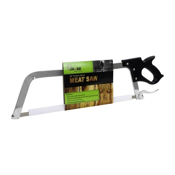 """Chard BSC-1, 22"""" Carbon Steel Meat Saw. Opens flyout."""