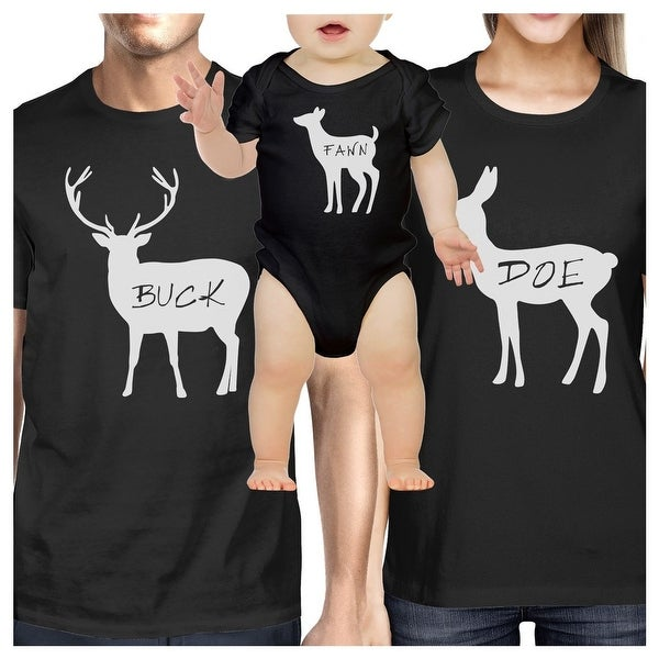 Funny Matching Shirts For Family Black Unique Graphic Family Black T-Shirt Gift