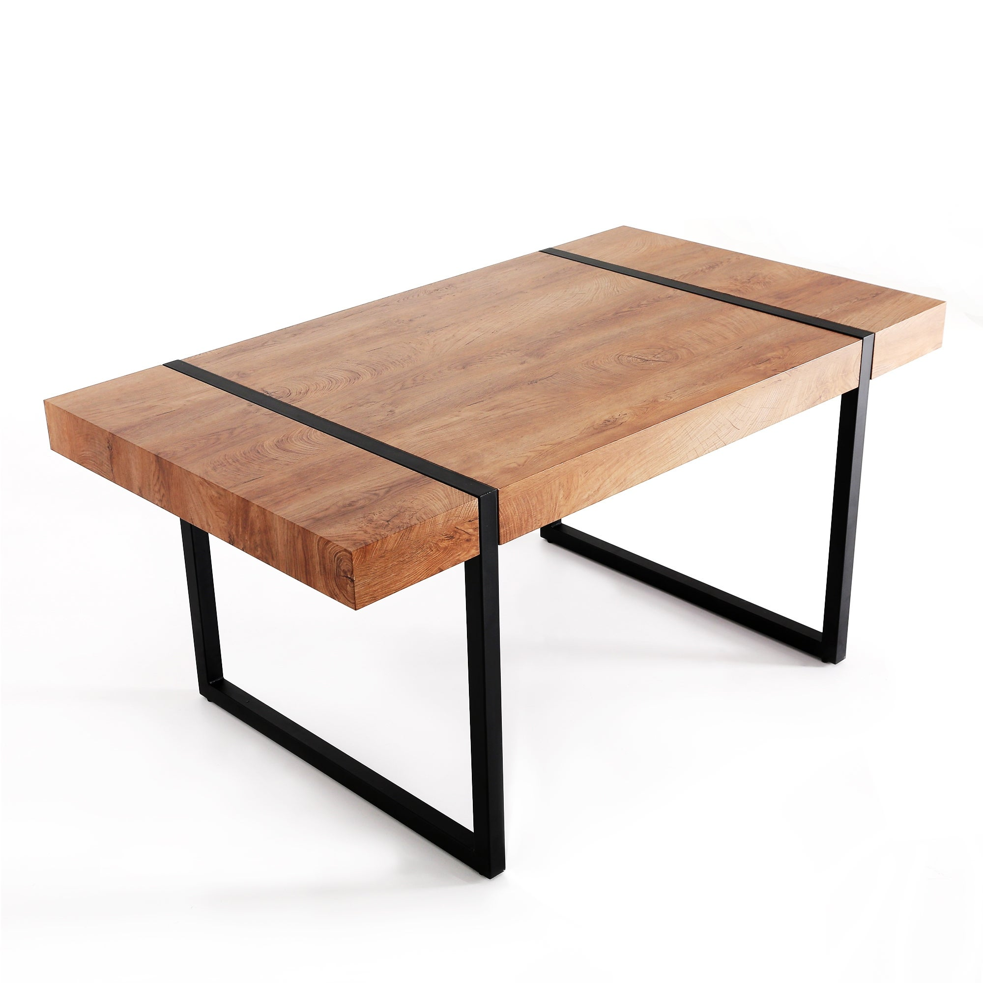 Shop Mcombo Modern Industrial Oversize Dining Table Desk Table