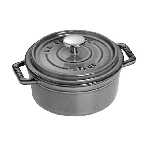 Staub Cast Iron 0.5-qt Round Cocotte